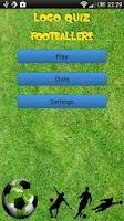 Screenshot of Logo Quiz Footballers