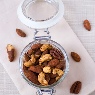 Pumpkin Spiced Cocktail Nuts