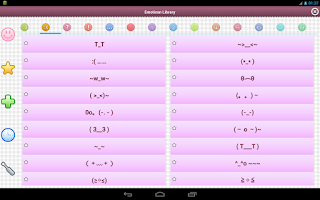 Screenshot of Emoticon
