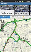 Screenshot of Charlotte Traffic