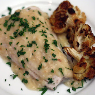 Michael Ruhlman's Shallow-Poached Walleye with White Wine-Shallot Sauce
