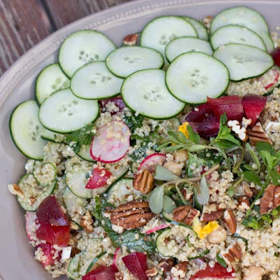 Quinoa Salad for a Crowd