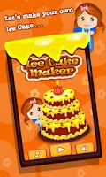 Screenshot of Ice Cake Maker