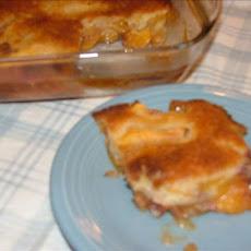 Great Great Grandma's Fresh Peach Cobbler