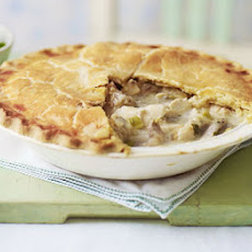 Lemony Roast Chicken Pie