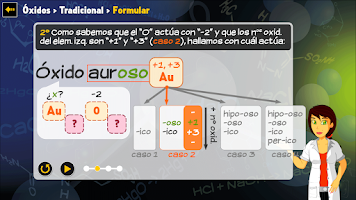 Screenshot of A formular (química) - Free