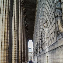 La Madeleine, Paris by David Long - People Street & Candids
