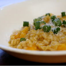 Butternut Squash and Scallion Risotto