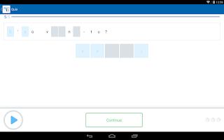 Screenshot of Learn French with busuu