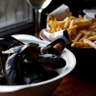 Moules Frites - Creamy Mussels with the Crispiest French Fries