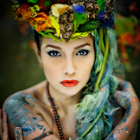 Colors of Nature by Maybelle Blossom Dumlao-Sevillena - People Portraits of Women ( beauty, portraits, nikon, philippines, passion )