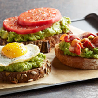CALIFORNIA AVOCADO TOAST THREE WAYS