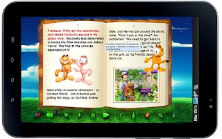 Screenshot of Garfield's BooClips LITE