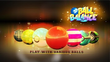 Screenshot of 3D Ball Balance