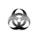 Bio Hazard Clock Widget icon