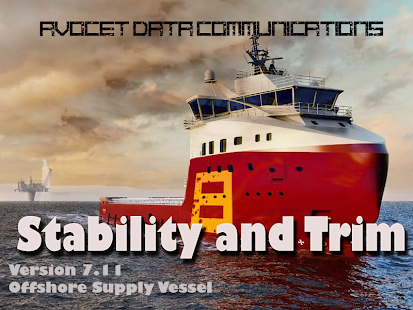Offshore Supply Ship Stability