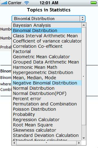 Topics in Statistics