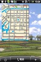 Screenshot of TrafficWidget