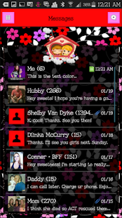 GO SMS THEME - SCS471 - screenshot