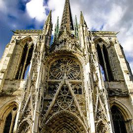 Cattedrale di Notre-Dame (Rouen)  by Augusto Viola - Buildings & Architecture Public & Historical (  )