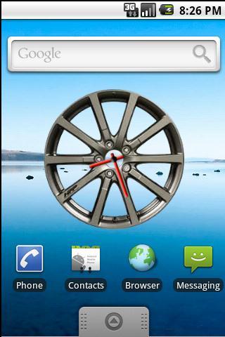 Sport Wheel Clock Widget