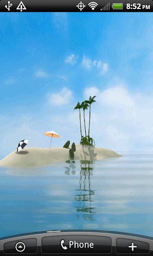 Island Oasis Live Wallpaper