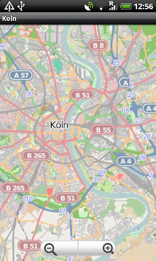 Koln Street Map