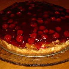 Double Cherry Cheesecake