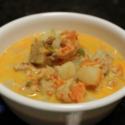 Crawfish Potato Soup