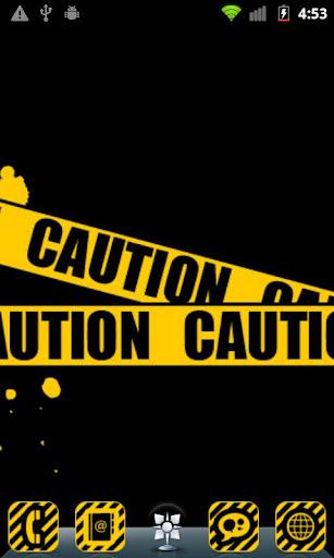 Caution Theme