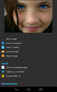 Screenshots  Eye Color Changer Pro