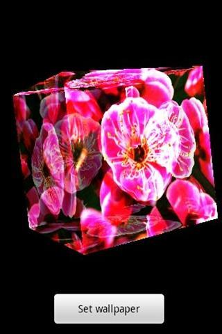 3D 梅の花