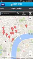 Screenshot of Cashplus Mobile App