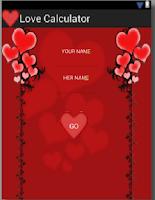 Screenshot of Viber Love Calculator
