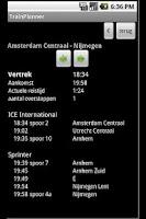 Screenshot of The Dutch Trainplanner