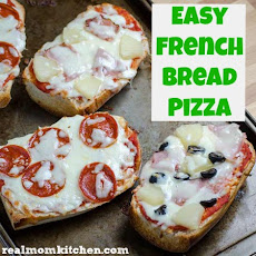 Easy French Bread Pizza