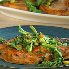 Meal-in-One Cast Iron Pork Chops