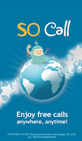 Screenshot of SOCall Free International Call