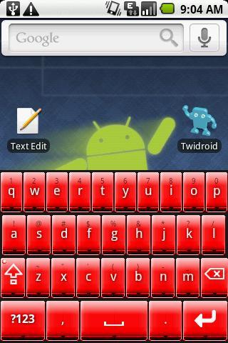 Better Keyboard Skin - Red