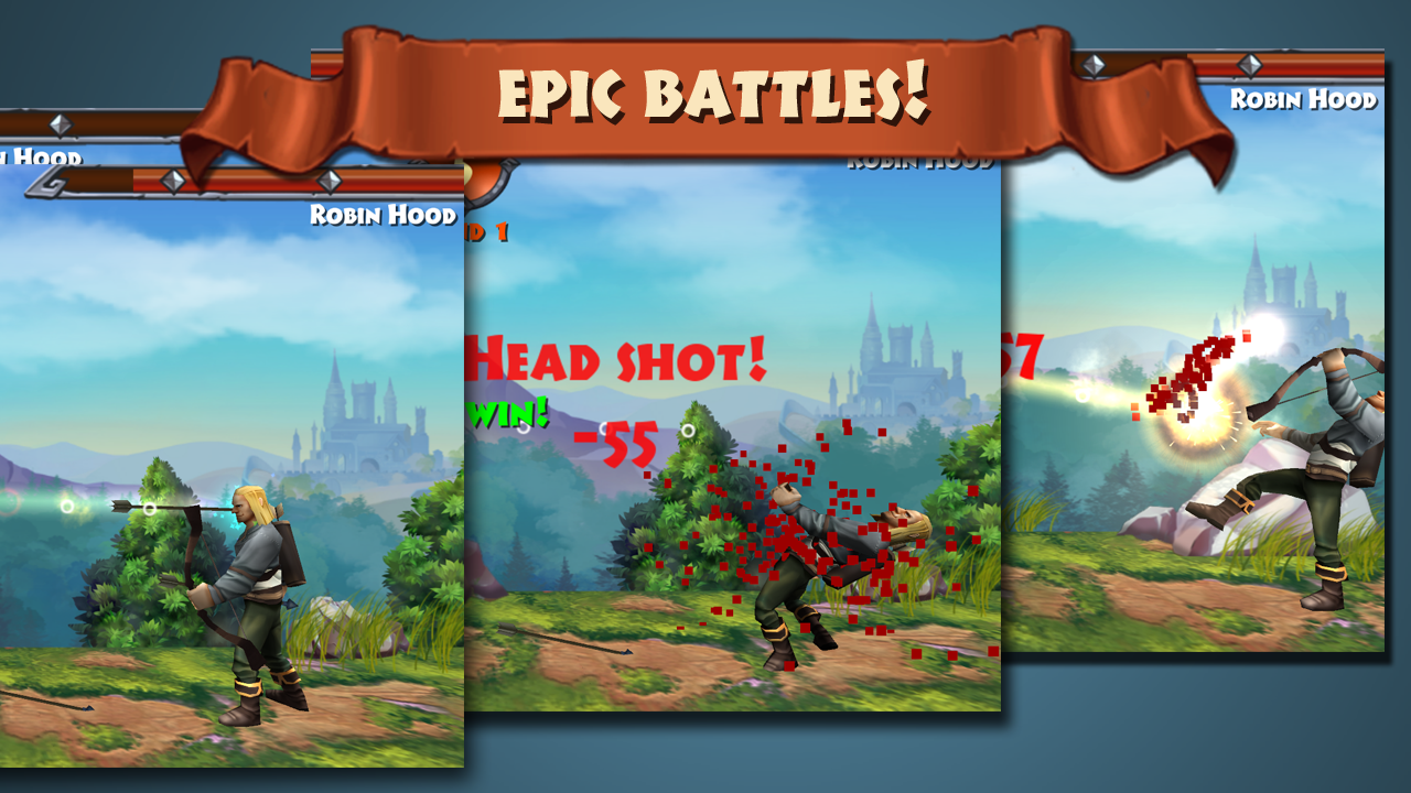 Robin Hood - Archery Games PVP Screenshot 2