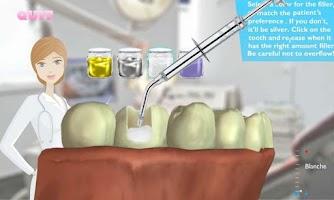 Screenshot of Virtual Surgery:Famous Dentist