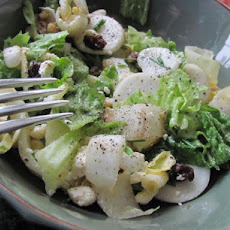 Baby Turnips and Endive in Honey  Mustard Dressing
