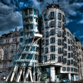 Dancing House 2 by Aura Vasile - City,  Street & Park  Neighborhoods