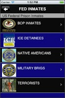 Screenshot of Jail, Prison and Inmate Search