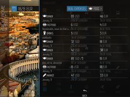Screenshot of TripBudget