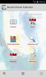 Neukirchener Kalender 2013 - screenshot