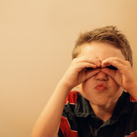 I See You by Blaine Linton - Babies & Children Children Candids ( child, pose, funny, candid, cute, boy )