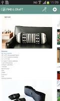 Screenshot of Find & Craft