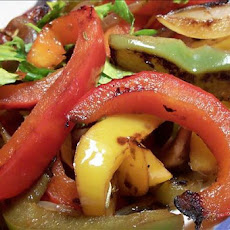 Christmas Sauteed Bell Peppers