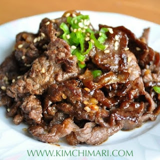 Korean Beef With Mushroom Recipes